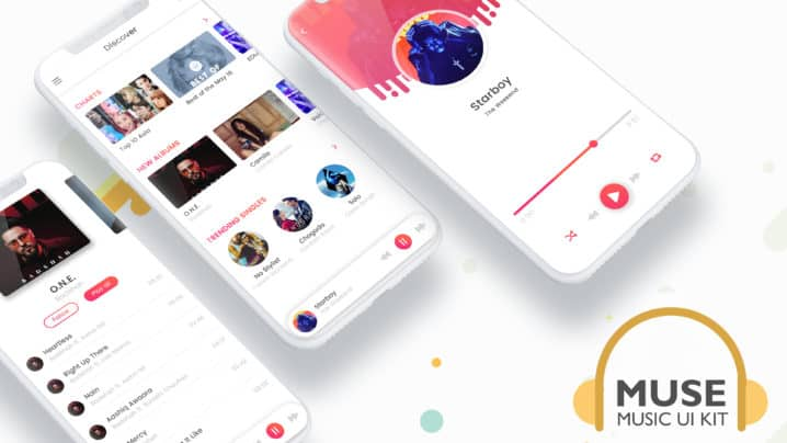 Muse - Music UI Kit