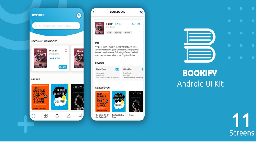 Bookify UI Kit