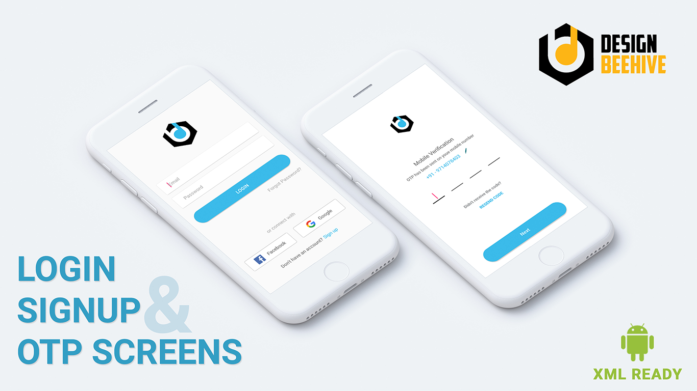 Login & Signup UI Kit